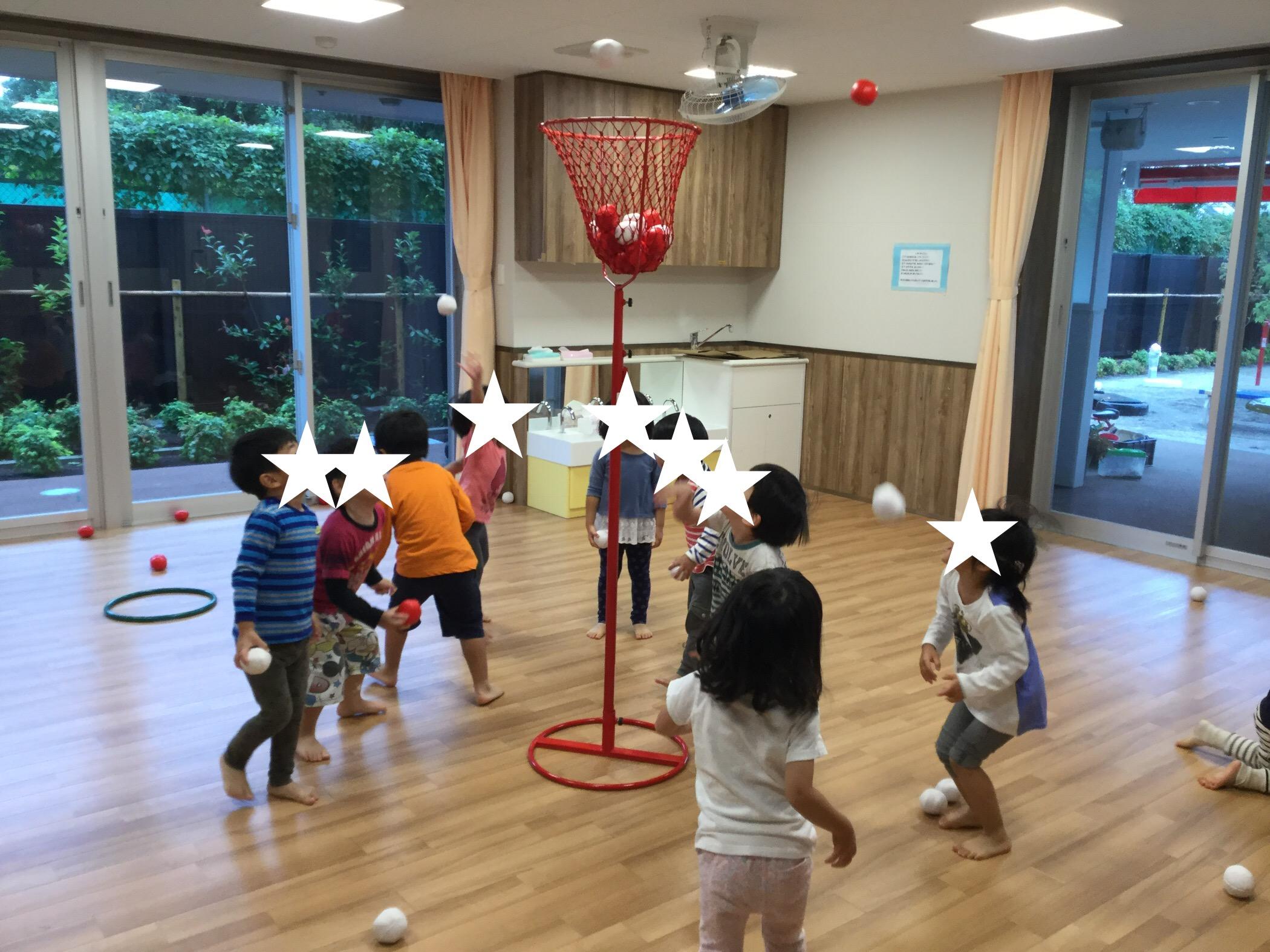 3歳児かぜ組 運動遊び!